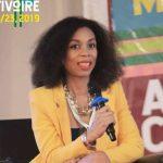 Céline Victoria Fotso aux Adicomdays 2019 à Abidjan